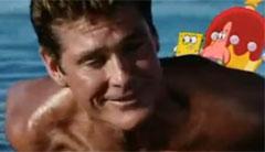 David Hasselhoff rettet SpongeBob und Patrick Star