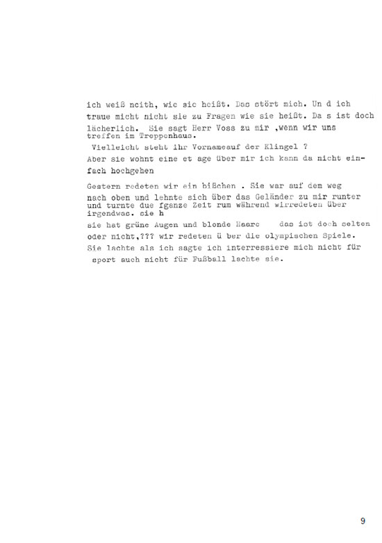 Josef Voss, Seite 9