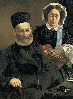 Portrait de M. et Mme Auguste Manet