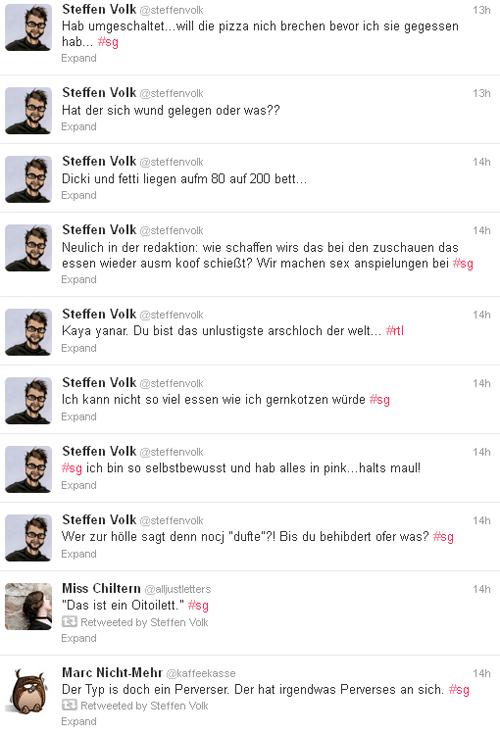 Timeline von @steffenvolk zu #sg