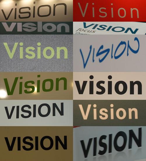 Visionen auf der Vision