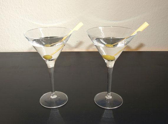 Wodka-Martini, ger?hrt bzw. gesch?ttelt
